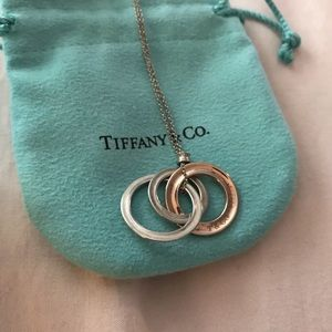 Tiffany and co. Interlocking circles necklace